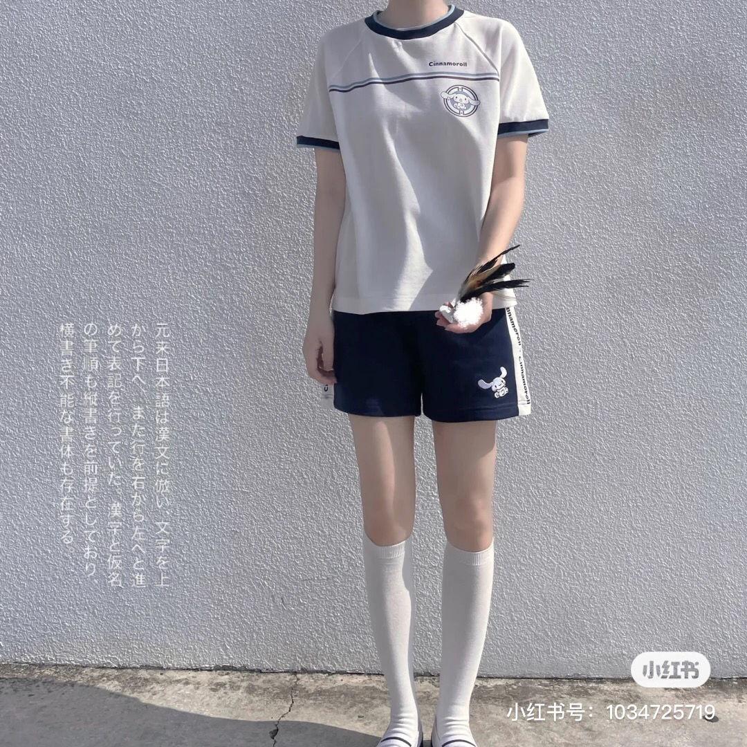 这套衣服适合去篮球课吗?天气越来越热了😢还要去上篮球课。不停地投篮还要跑四圈。总共1600米