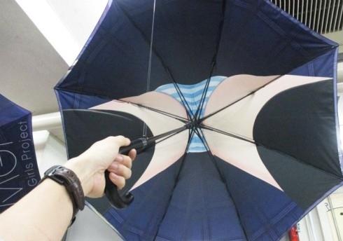 Un-burera伞如其名,活久见
