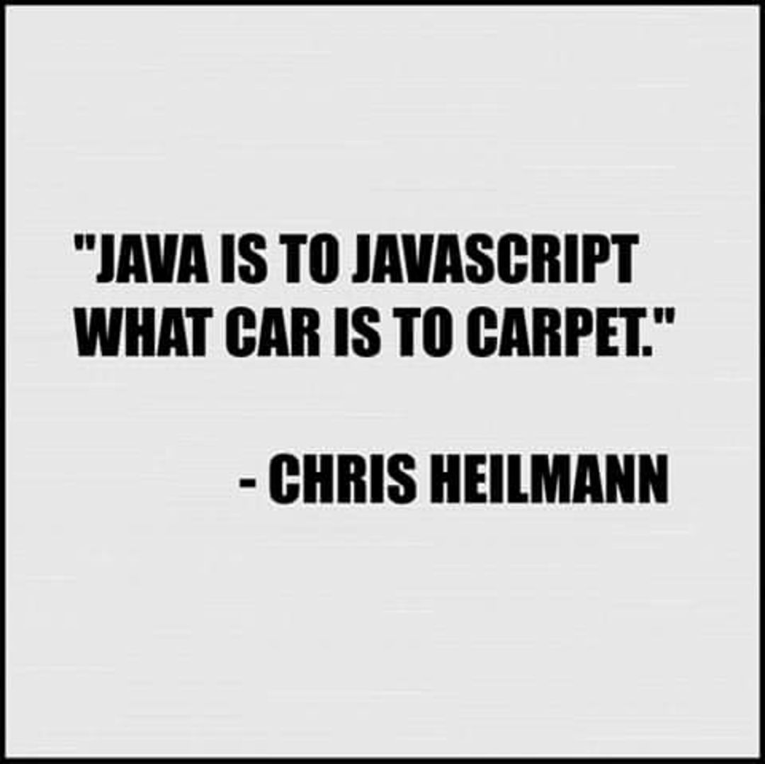 Java is to javascript like....