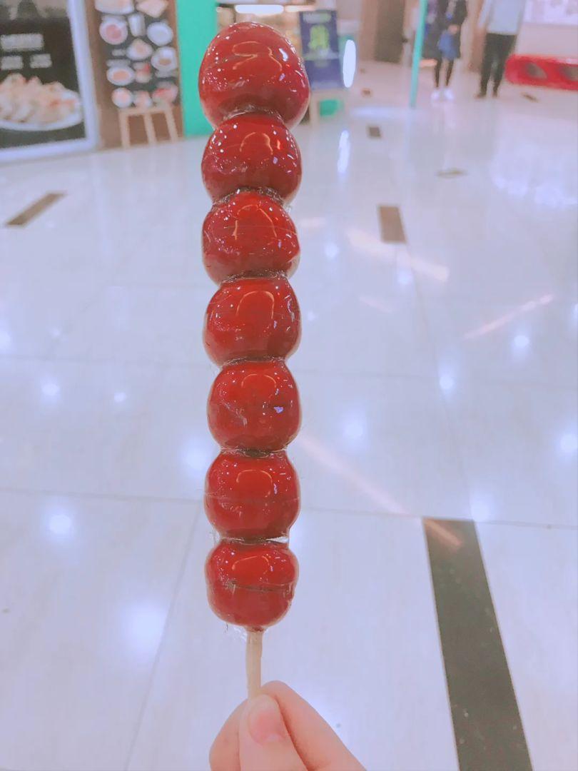 回国吃糖葫芦!