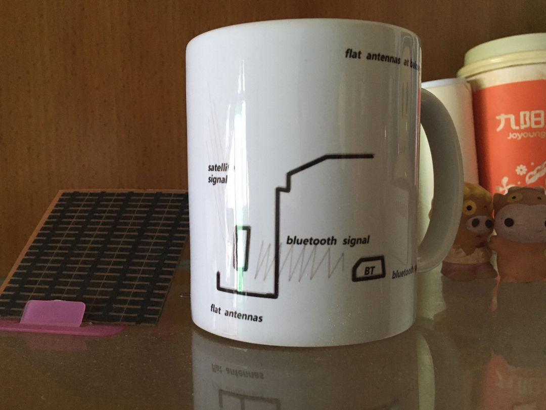 Idea imprint on a cup
