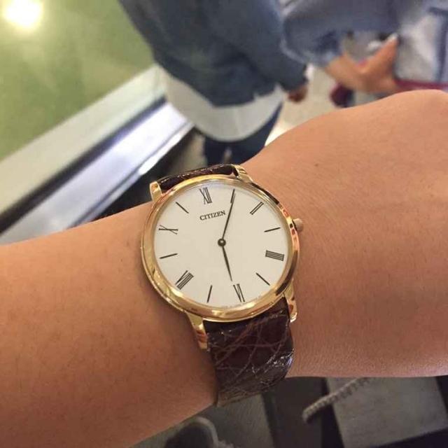 买了个大金表 超耐磨