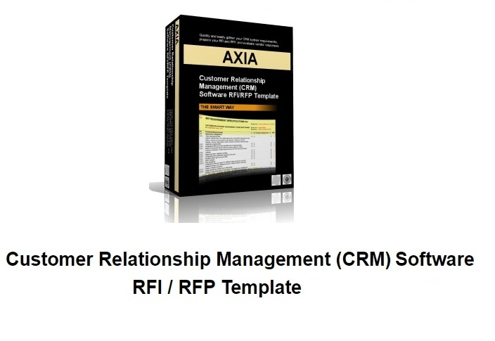 Axia Consultants CRM software RFI and RFP Template