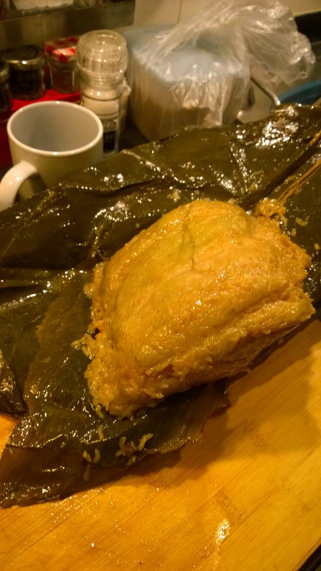 这辈子吃过最大的粽子。。