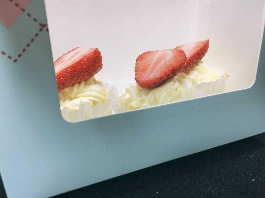 做了纸杯小蛋糕