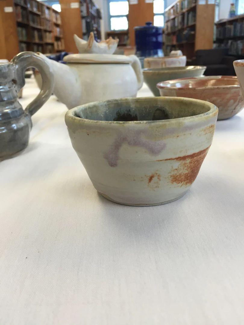 一星期内给一个餐厅做的陶艺-系列①