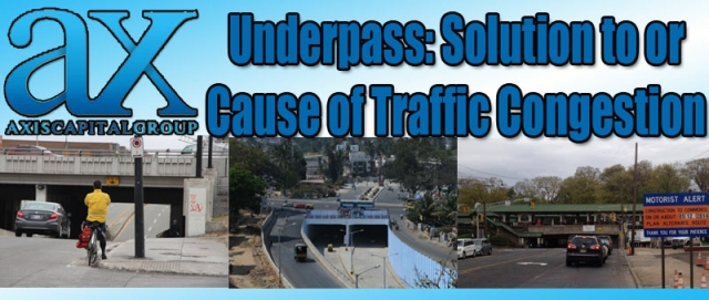 Underpass: Solution to or Cause of Traffic Congestion