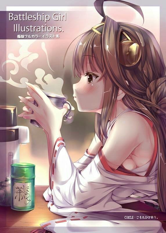喝下午茶的金剛( ̄ー ̄)