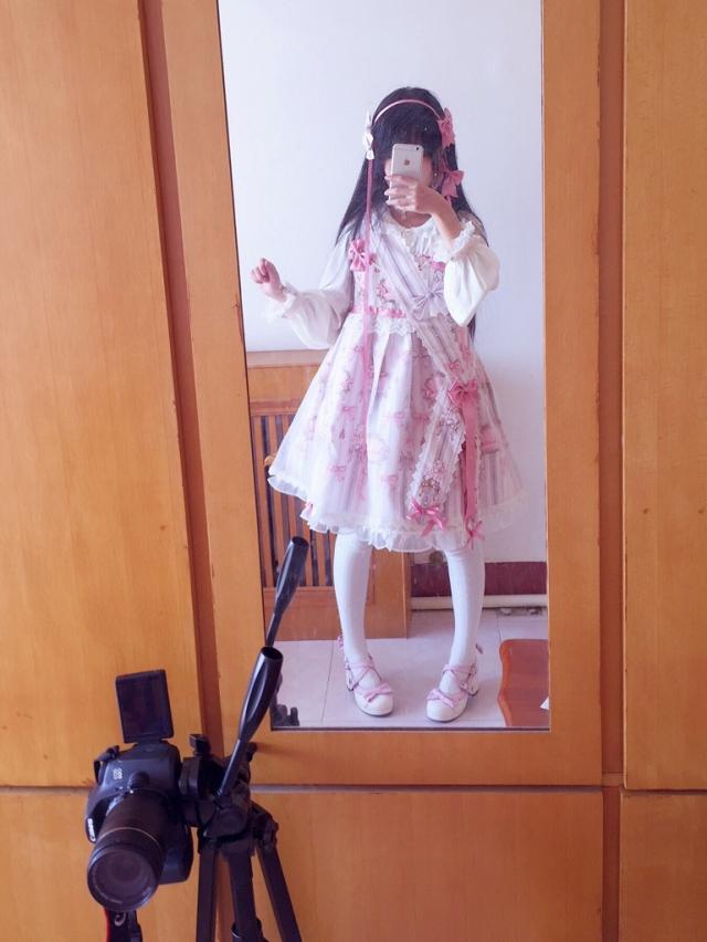 大家除夕快乐!无聊在家试裙子(。