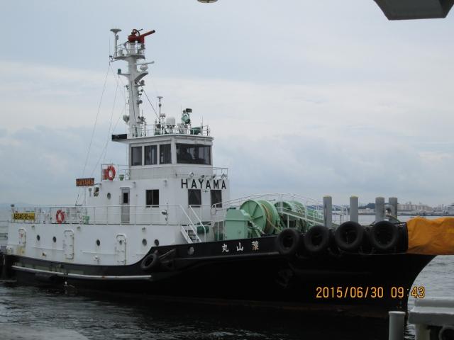 20150630-20150710 若狭湾海域K15-10航次