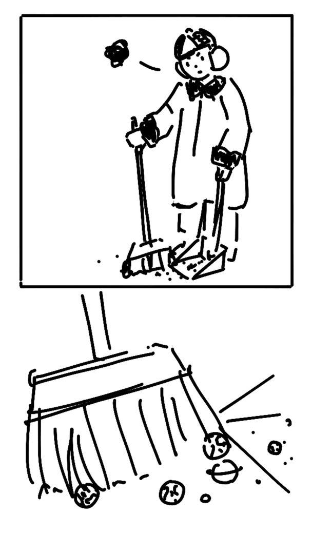 最近迷上了画两格漫画,哈哈哈