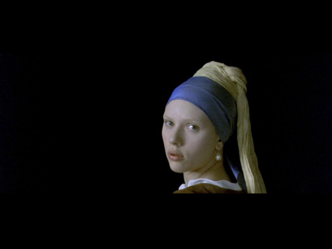 带着珍珠耳环的少女