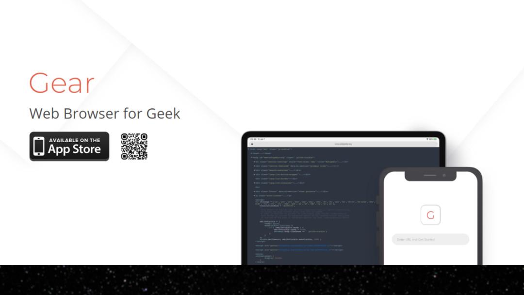 本喵新作 - Gear 浏览器