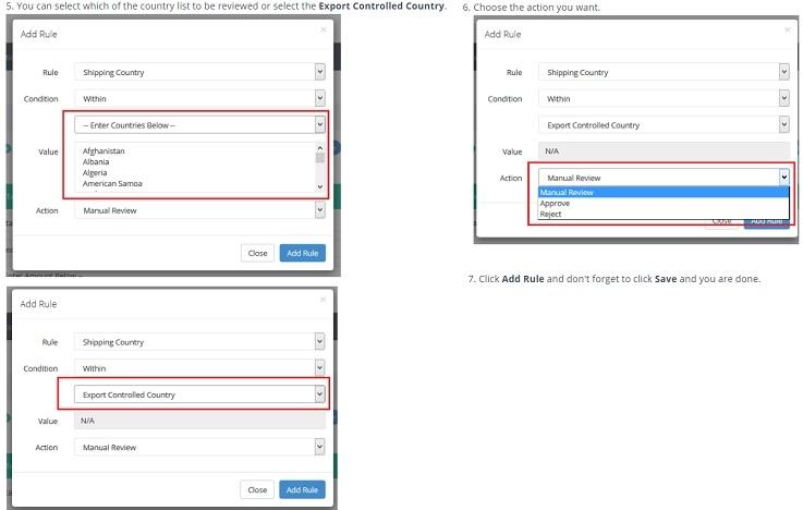Fraud Labs Pro Fraud Detection custom country validation