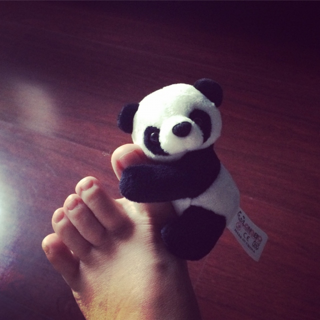 熊猫公仔真心贵,景区贵就不说了,外面的小店也贵,走到哪里买熊猫都很贵我又不会还价,其实还想买更多OTL