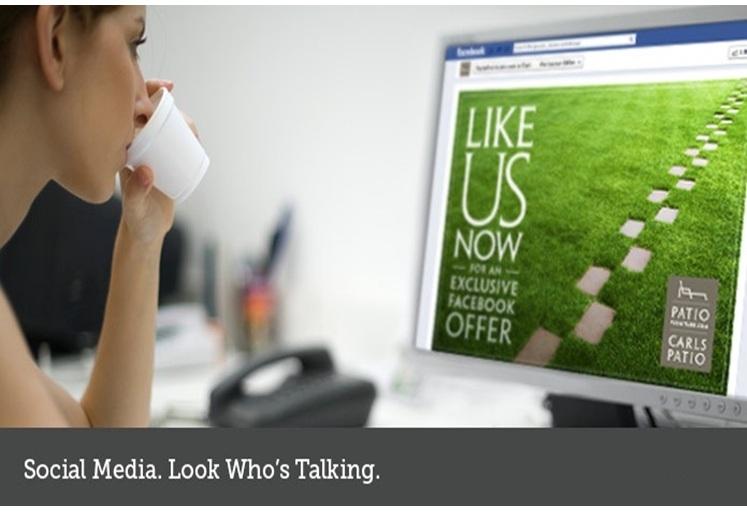 Bacall Associates marketing plan using social media
