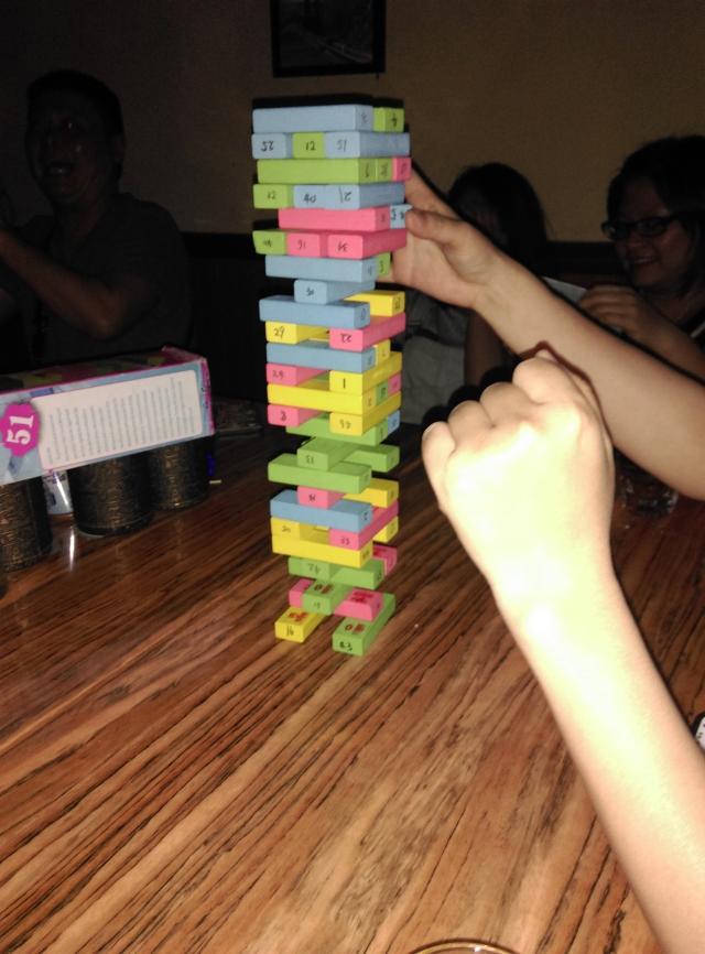 玩了一晚上层层叠ヽ(^0^)ノ