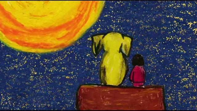 宅了一天,看了黄色大象,节奏很慢很诡异的一部电影