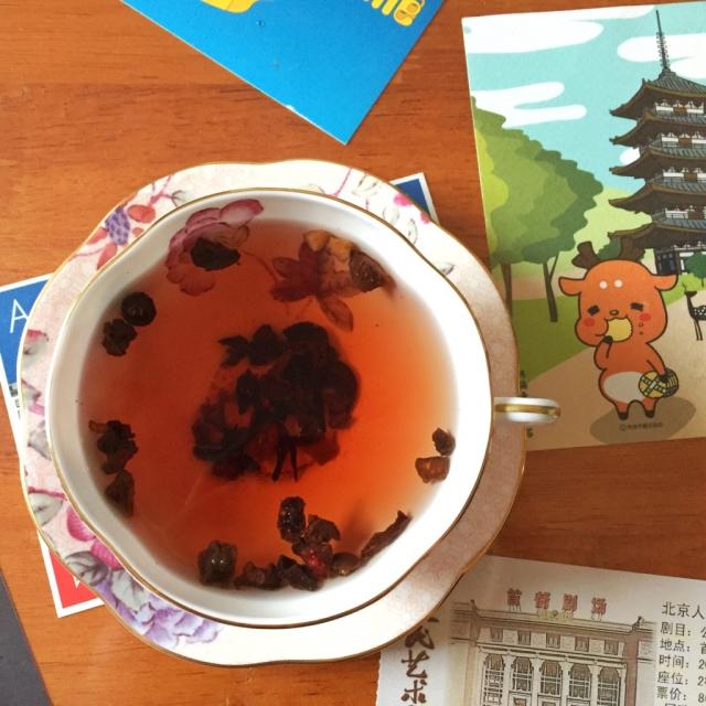 新年的第一杯茶