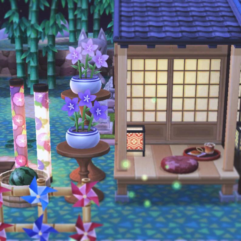 想在自己的动森营地里生活