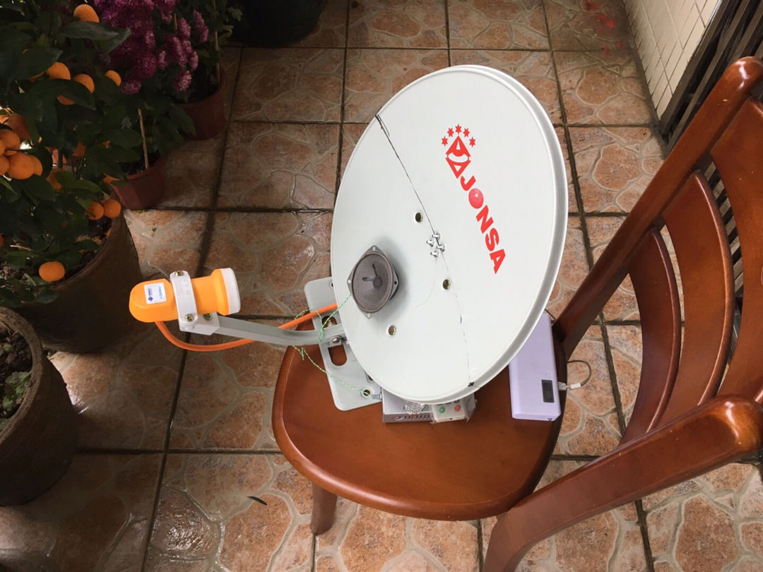 Satellite radio 1.2 antenna design from Australia