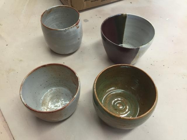 之前新做的陶艺