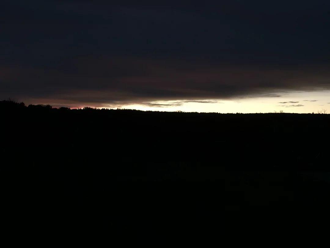 冬令时来了之后天黑的很快