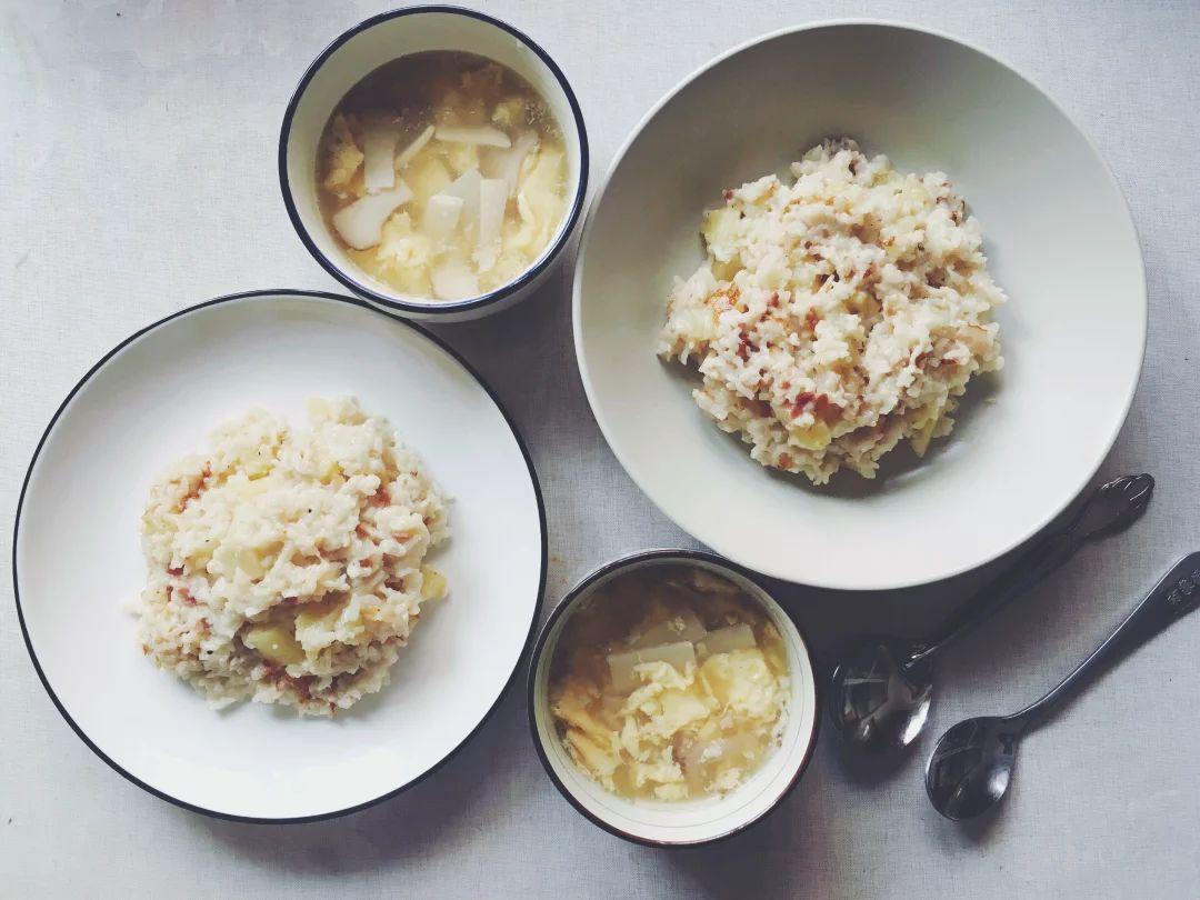 午餐 培根土豆焖饭