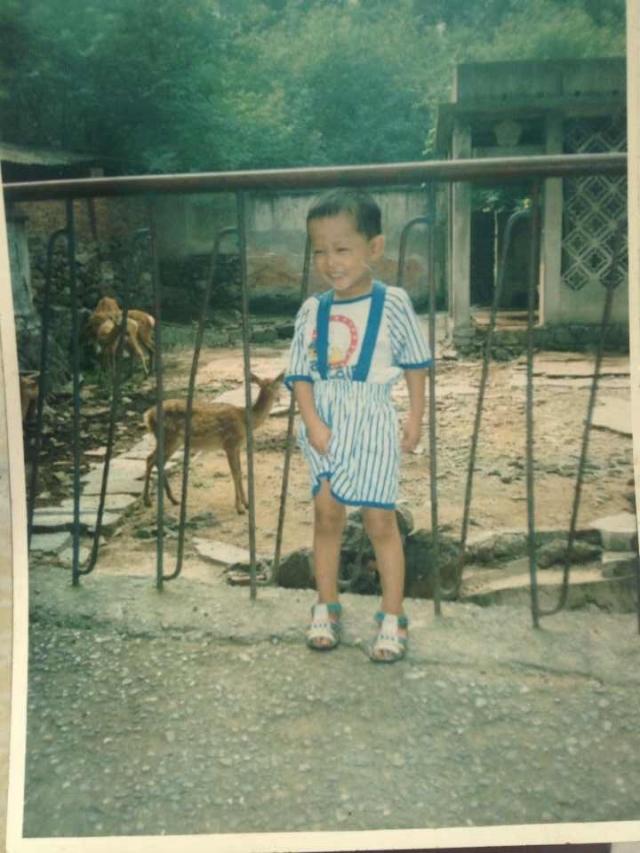 小时候的我