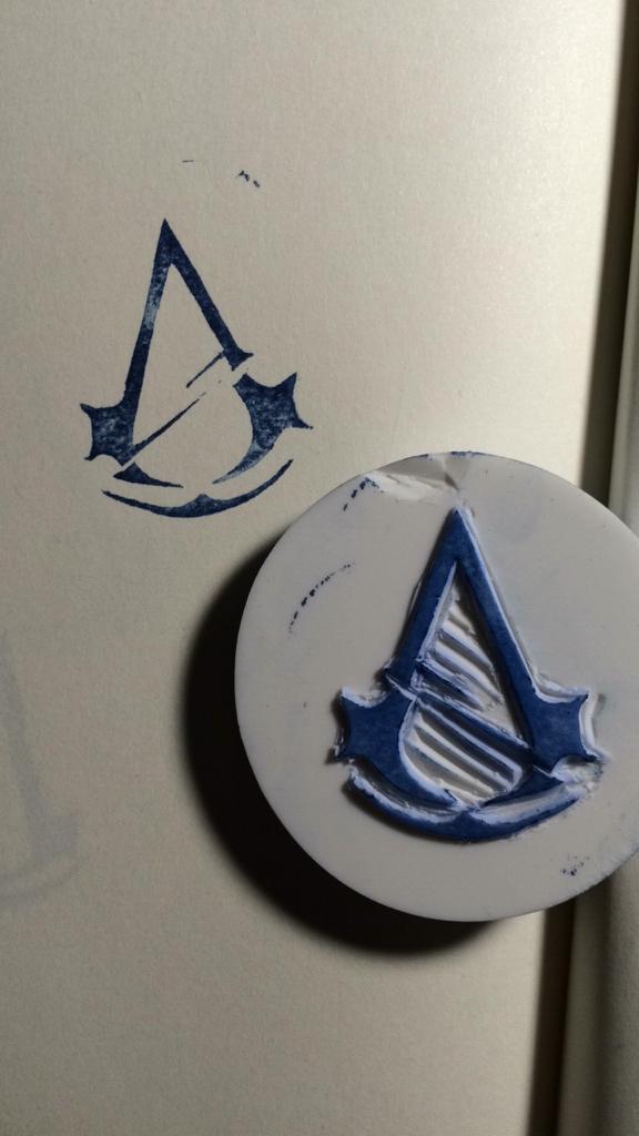 两个logo章